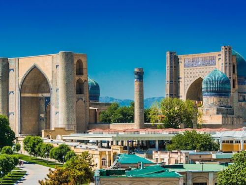 Bibi-Khanym-moskén i Samarkand var på 1400-talet en av de största och mest magnifika moskéerna i den islamiska världen.