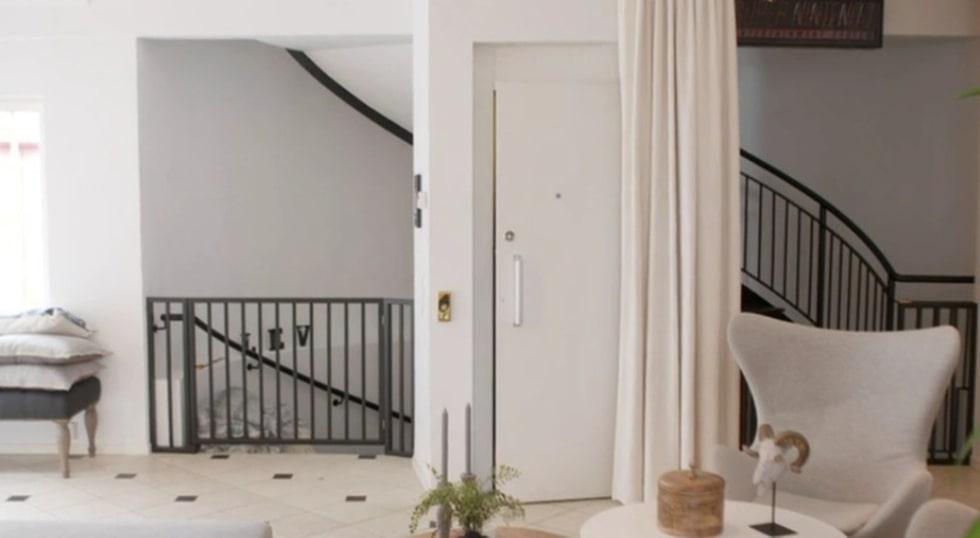 <p>Hiss ända upp i lägenheten. Lyxigt värre!<br></p>