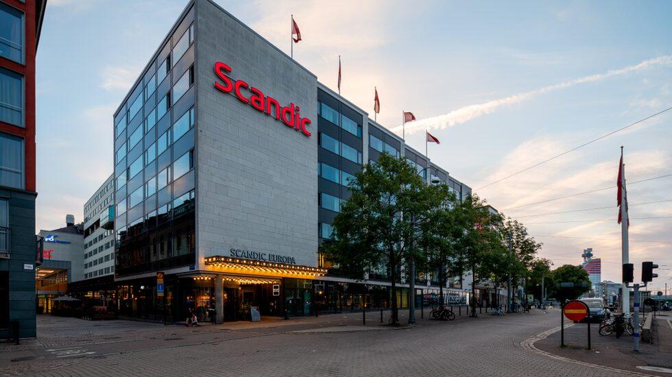 Scandic Europa i Göteborg – ett av kedjans 85 hotell i Sverige.