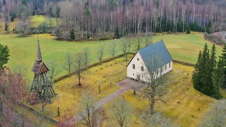 Flemmingelands kapell ligger i Småland och byggdes 1933. Nu kan det bli ditt för 700 000 kronor.