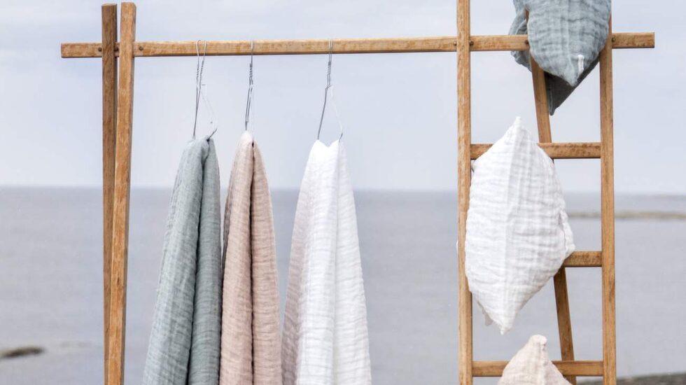 På Design house Stockholm open kan man shoppa sängkläder från Himla.