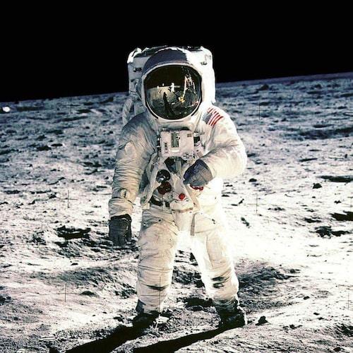 En värmlänning på månen.