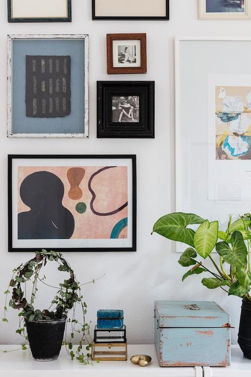 Krista är illustratör och konstnär. Hennes posters bygger på akvareller och görs i begränsad upplaga.