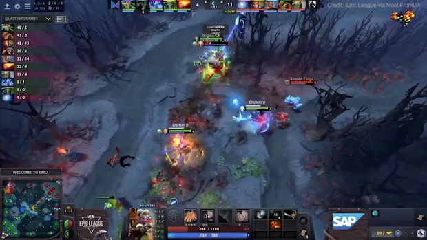 Se highlights från Alliance och Team Liquid i Epic League