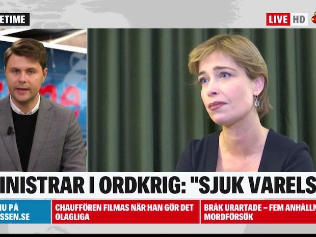 """Ungerns vice premiärminister om Strandhäll: """"Stackars sjuk varelse"""""""