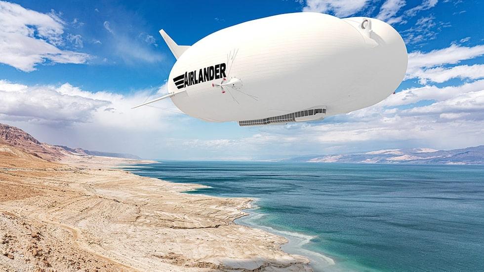 Är luftskeppen framtiden för flygresandet?
