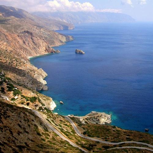 Amorgos är en av Kykladernas mest romantiska öar.
