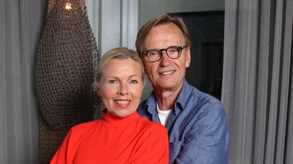 """I uppskattade tv-serien """"Älska mig"""" spelar Görel Crona mot Johan Ulveson. Hon känner igen sig själv i den bohemiska karaktären."""
