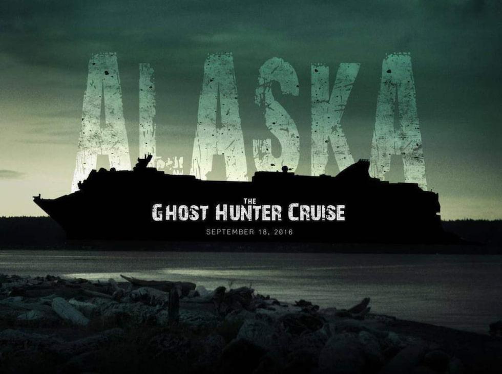 Att leta efter spöken till havs kan tyckas vara en något udda idé men det hindrar inte att det ordnas kryssningar i seriens namn under ledning av dess stjärnor.