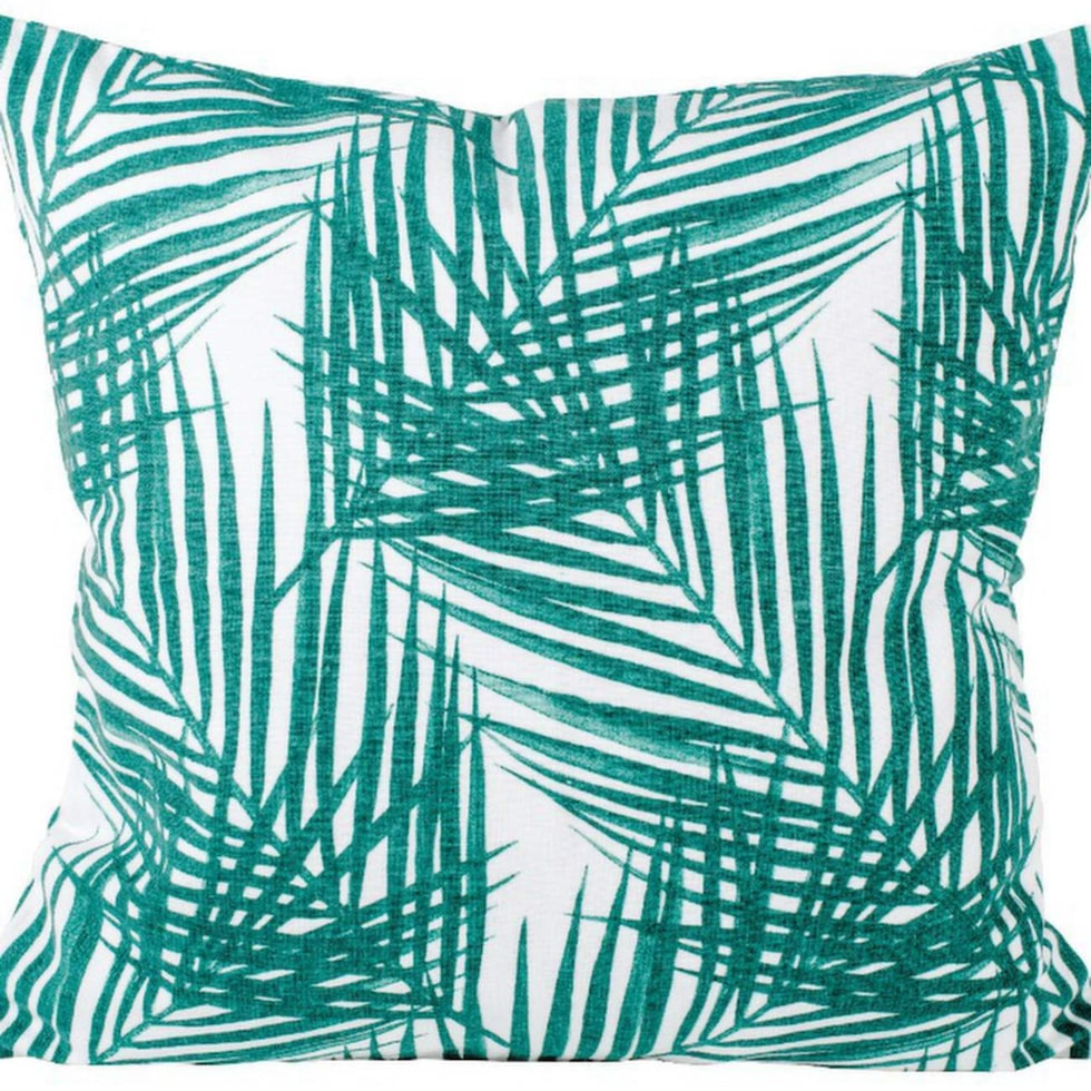 Kudde Palm, bomull/linne, 45 × 45 centimeter, 149 kronor, Lagerhaus.