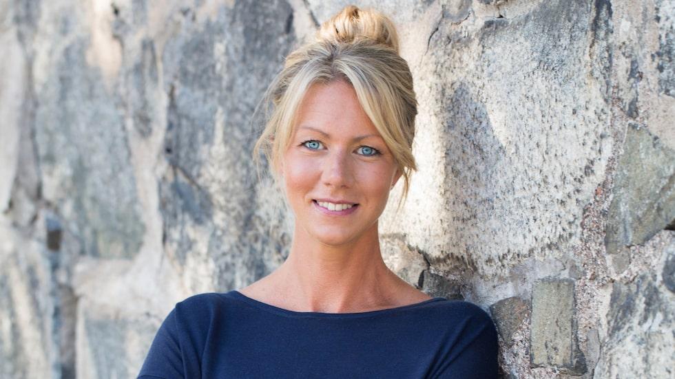 Näringsfysiologen Kristina Andersson.