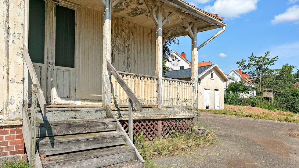 Sekelskifteshuset i Borås är till salu för 600 000 kronor.
