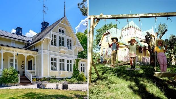 Pippi Långstrumps hus är till salu