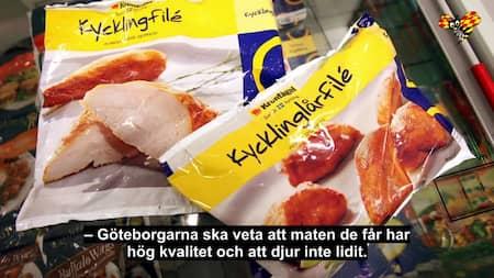 Goteborgs Stad Slutar Kopa Kyckling Fran Kronfagel Gt Expressen