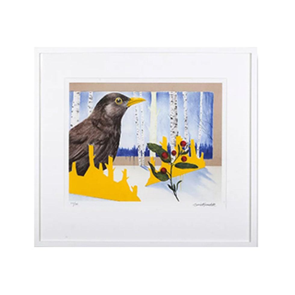 Motivet Midnatt finns nu i LEVA&BO:s konstgalleri. Klicka enkelt på plustecknet i bilden för att handla.