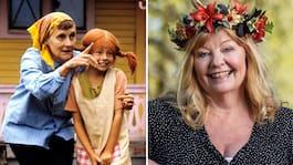 Inger Nilsson: Pippi tog över hela familjens liv