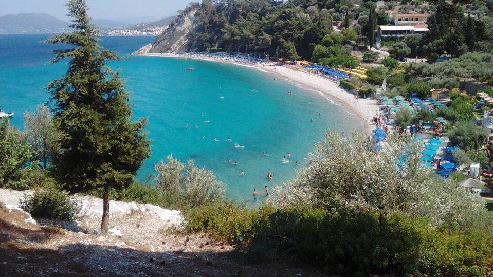 Platsen skulle man kunna jämföra med naturen och stränderna på ön Samos i Grekland.