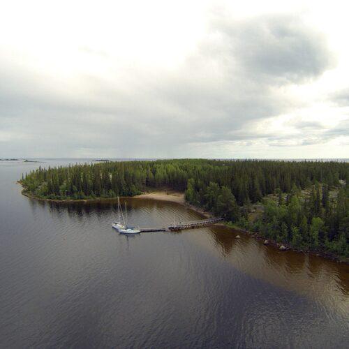 Getskär-Renskär är två små öar som vuxit ihop.