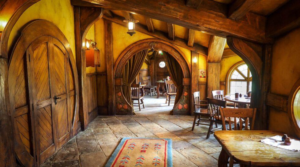 The Green Dragon Inn.