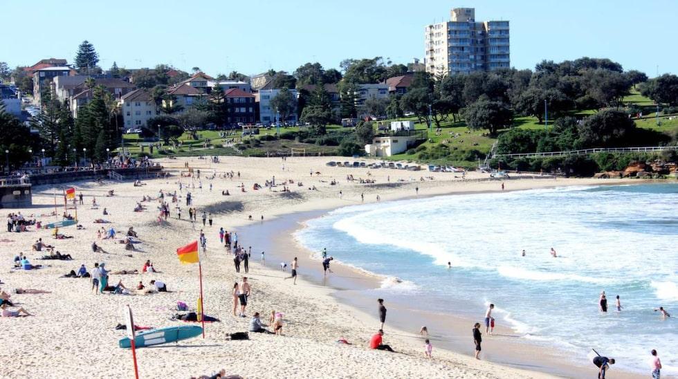 Coogee Beach har kvar den intima och småskaliga känslan som  rä svår att hitta på  Bondi.