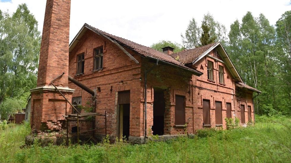 Den gamla fabrikslokalen, som tidigare var ett mejeri är nu till salu.