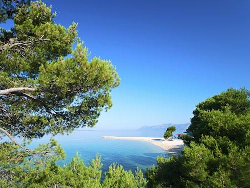Brac har kända stranden Zlatni Rat