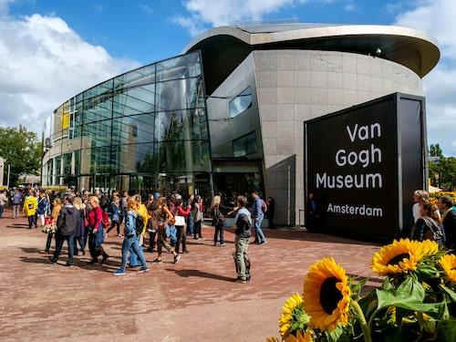Här finns världens största samling av konstnären Vincent Van Goghs verk.