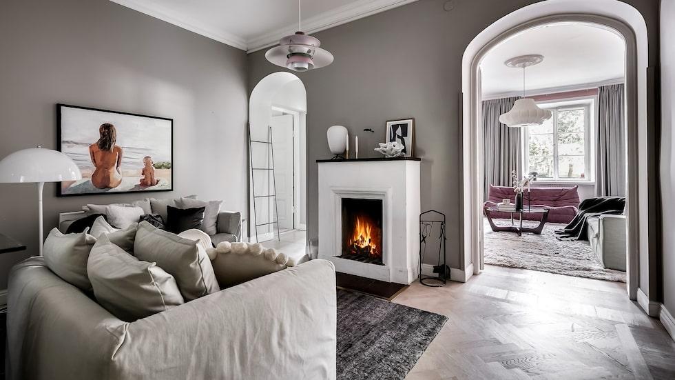 Margaux Dietz lägenhet mitt i Stockholm är till salu för drygt 10 miljoner kronor.