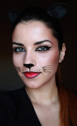 Sista Minuten Halloween Sminkning