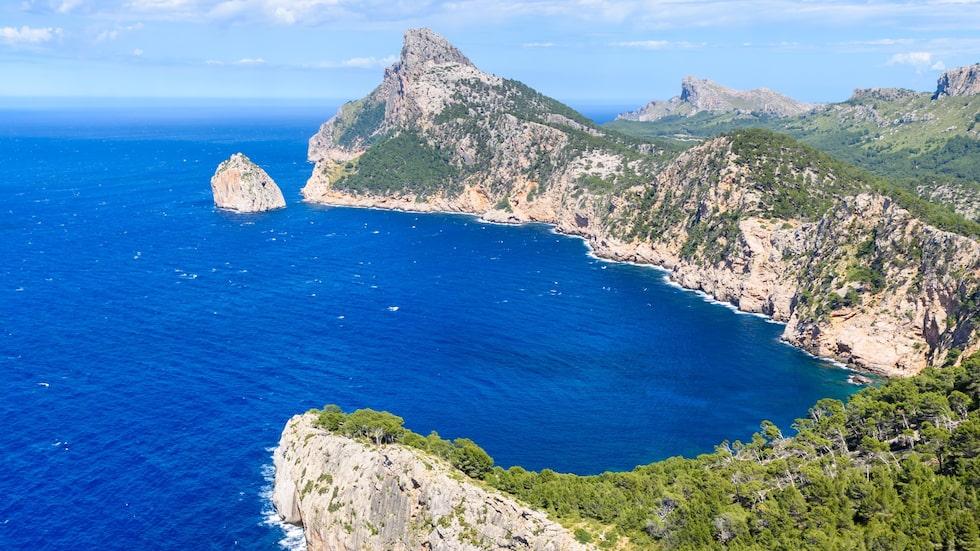 Cap de Formentor på Mallorcas norra spets bjuder på oslagbar utsikt.