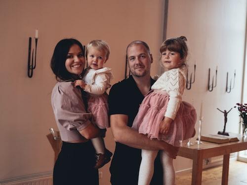 Sedan LEVA&BO var på besök har familjen utökats med lilla Hedvig.