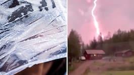 Väderkaoset: Åska, skyfall – och ännu mer supervärme