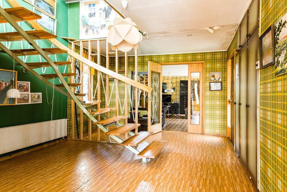 Det här huset på Hemnet är verkligen något utöver det vanliga. Allting är intakt från 70-talet.