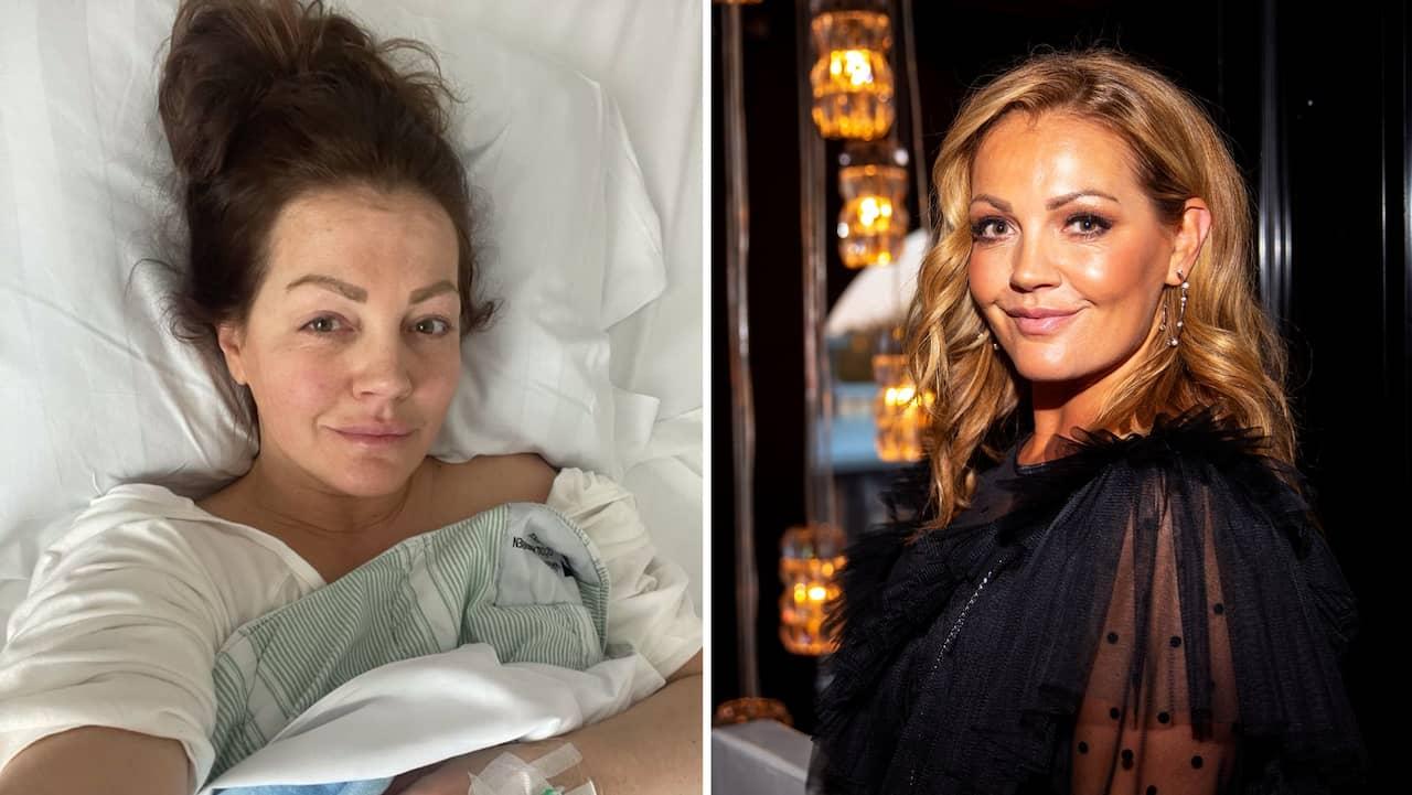Johanna Toftby opererade ut livmodern – vägde ett kilo