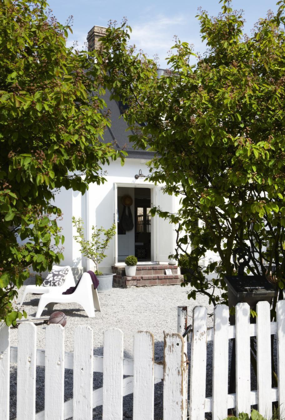 Lummigt.<br>Johannas hus ligger som ett litet gömt smycke längs en trivsam Limhamnsgränd.