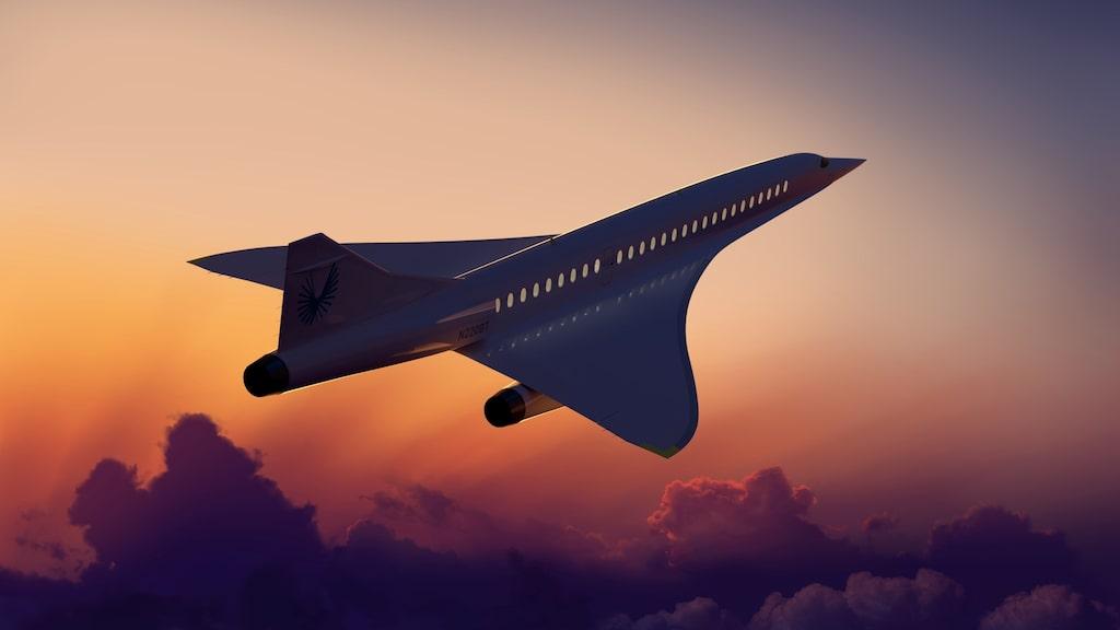 En prototyp (hälften så stor som det färdiga planet) är tänkt att provflygas senare i år.