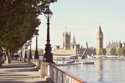 Utsikten från South Bank är Londons bästa.