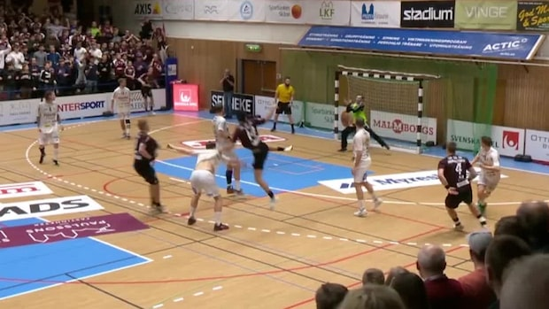 Highlights: Dramatiskt slut mellan Lugi och Redbergslid