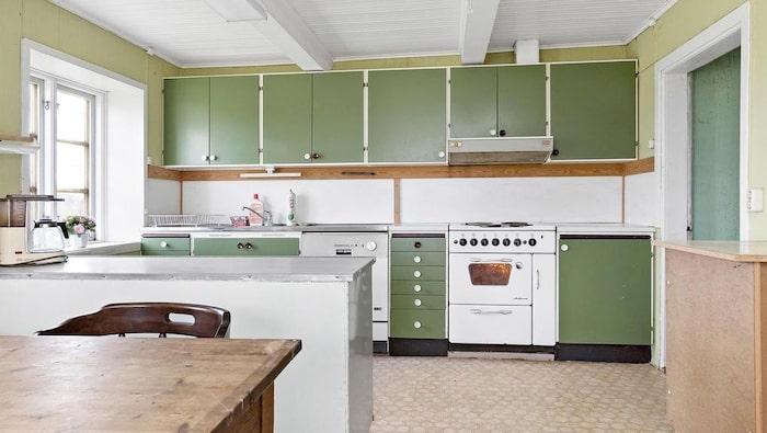 Det gamla köket.