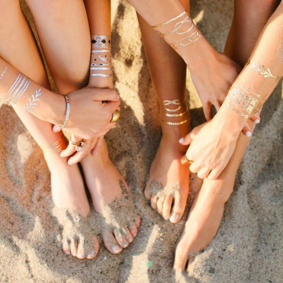 Smyckestatueringar från amerikanska Lulu DK.