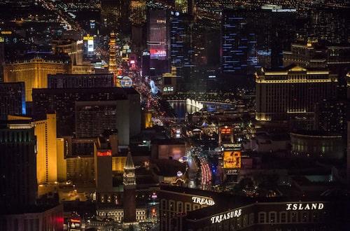 """Las Vegas – platsen för en legendarisk biljakt i """"Diamantfeber""""."""