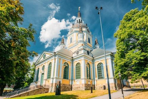 Kvinnor som anklagades för häxeri förhördes i ett rum till vänster om centralaltaret i Katarina kyrka.