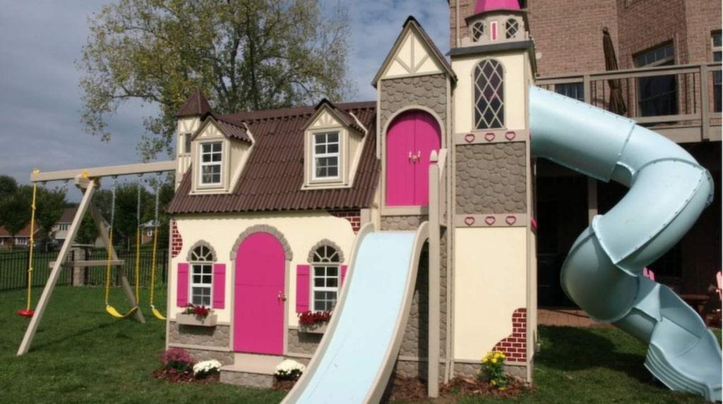 Företaget bygger även specialhus efter kunders önskemål, som det här.