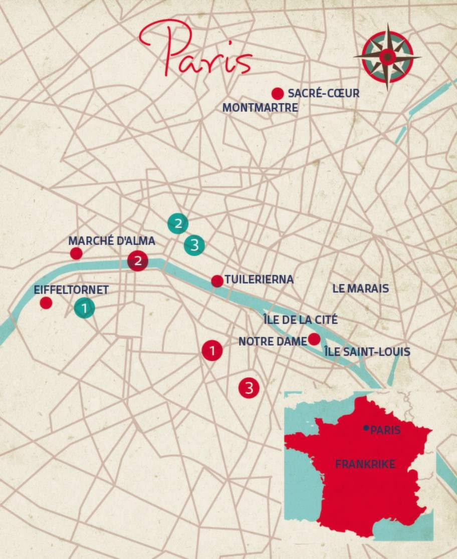 Helena Höjenberg tipsar om sina bästa ställen i Paris.