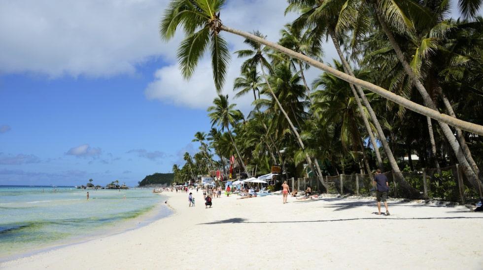 Filippinernas Boracay är världens bästa ö – utan för USA.