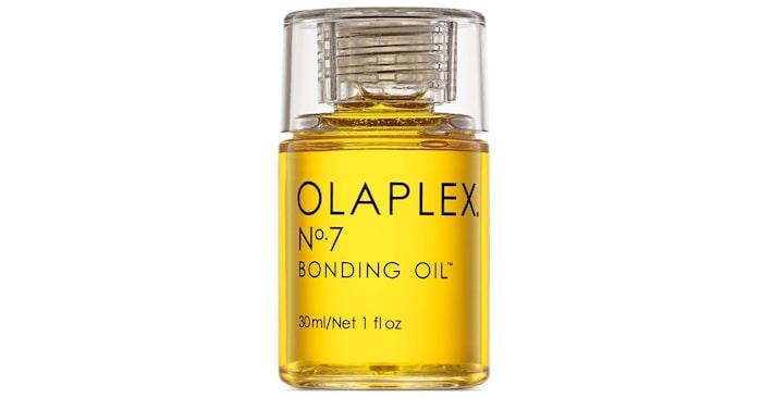 No. 7 bonding oil: Hårolja som gör håret glansigt och skyddar mot värme upp till 230 grader.