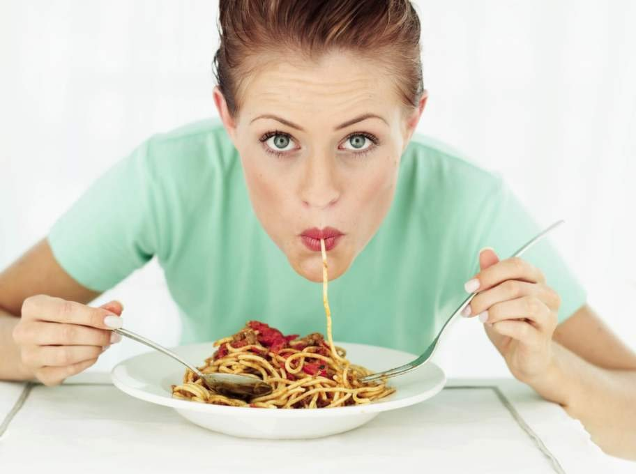 En portion pasta, 1,5 tsk.