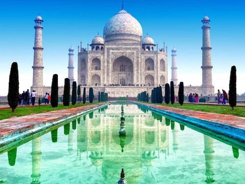 Taj Mahal, Indien.