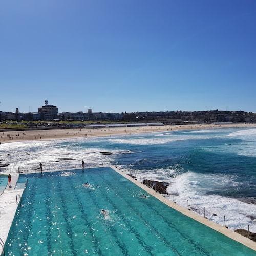 I storstaden Sydney är strandlivet ständigt närvarande.