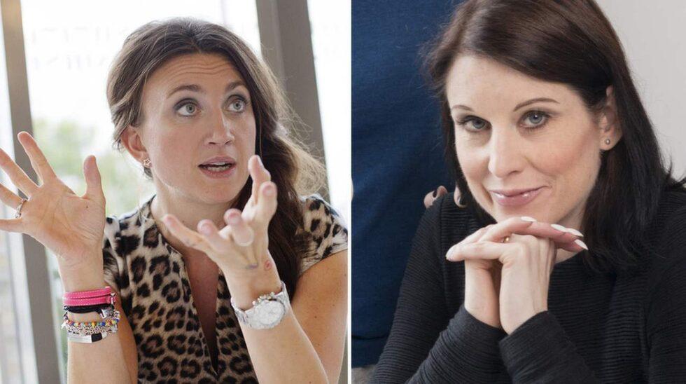 Camilla Läckberg och Linda Skugges storbråk engagerar.